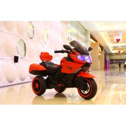 Ел-мобіль T-7224 RED мотоцикл 2*6V4AH мотор 2*20W з MP3 106*55*74 /1/
