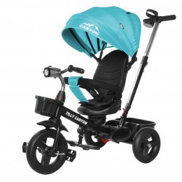 Велосипед триколісний TILLY CANYON T-384 Бірюзовий/1/