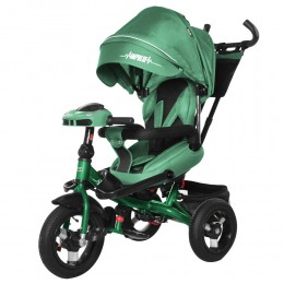Велосипед триколісний TILLY Impulse з пультом і посиленою рамою T-386 Зелений/1/