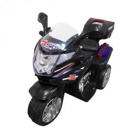 Ел-мобіль T-7234 BLACK мотоцикл 6V4.5AH мотор 1*35W з MP3 86*41*57 /1/