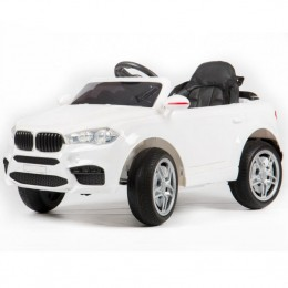 Ел-мобіль FL1538 (T-7830) EVA WHITE джип на Bluetooth 2.4G Р/У 2*6V4,5AH мотор 2*25W з MP3 104*64*53