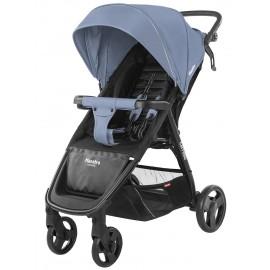 Коляска прогулочная CARRELLO Maestro CRL-1414 Soft Blue + дождевик (голубая)