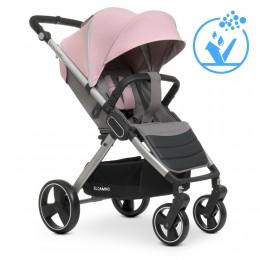 Дитяча прогулянкова EL CAMINO коляска ME 1053 DYNAMIC v.2 Pale Pink (рожева)