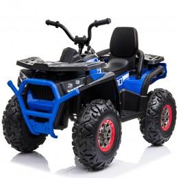 Ел-мобіль XMX607 EVA BLUE квадроцикл 12V7AH мотор 2*35W з MP3 111*65*73,5 /1/